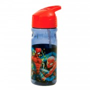 Drinkfles Spiderman Transparant, 500ml