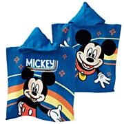 Handdoek Poncho Mickey Mouse, 55x110cm