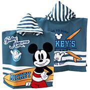 Handdoek Poncho Mickey Mouse, 55x100cm