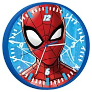 Wandklok Spiderman