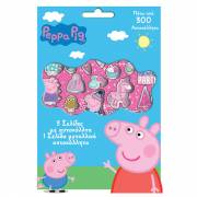 Stickervellen Peppa Pig