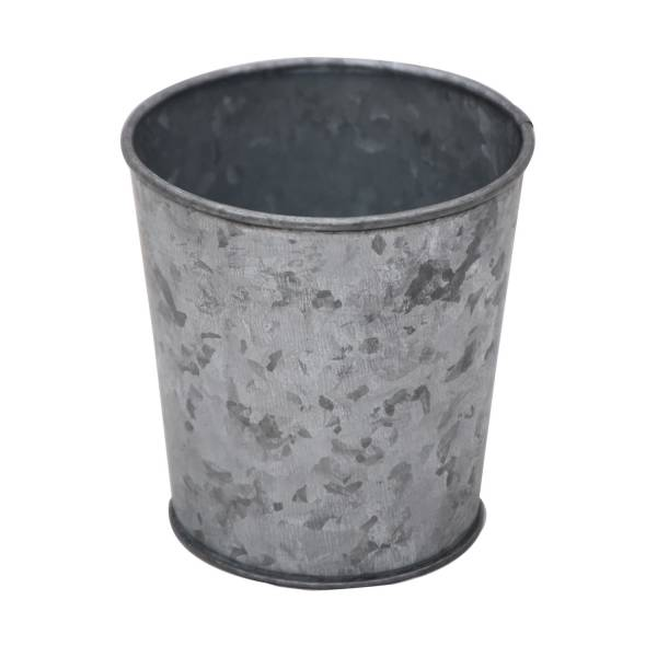 Bloempot Zink, 10 cm