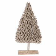 Kerstboom Rotan Grey-wash, 78cm
