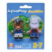 AquaPlay 234 - Speelfiguren Beer en Nijlpaard