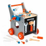 Janod Brico'kids - Magnetische DIY Trolley