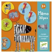 Djeco Memory Jungle, 30st.
