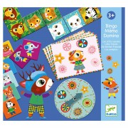 Djeco Bingo Memo Domino Little Friends