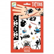 Djeco Tattoos - Piraten