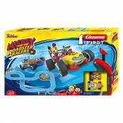Carrera First Racebaan - Mickey Roadster Racers