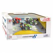 Super Mario Pull Back Kart Set, 3dlg.