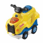 VTech Toet Toet Auto's - Press & Go Quinn Quad