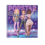 TOPModel Dress me Up Stickerboek Popstar