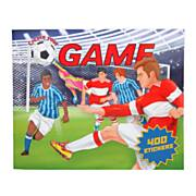Create your Football Game Stickerboek
