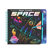 Mini Magic Scratch Boek Space