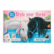 Miss Melody Style your Horse Tekenboek