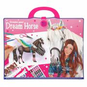 Miss Melody Create your Dream Horse Sticker- en Kleurboek