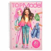 TOPModel Dress me Up Tropical Stickerboek