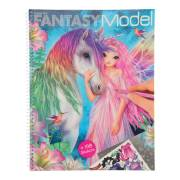 TOPModel Fantasy Model Kleur en Stickerboek