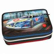 Monster Cars 3-vaks Gevuld Etui met LED