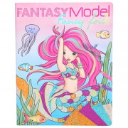 TOPModel Fantasy Model Fancy Folie- en Kleurboek