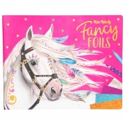 Miss Melody Fancy Folie- en Kleurboek