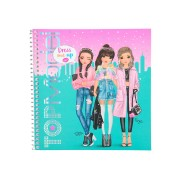 TOPModel Dress Me Up Stickerboek