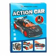 Monster Cars 3D Puzzel Sportauto