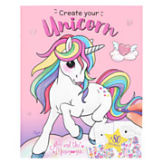 Ylvi Create your Unicorn Kleur- en Stickerboek