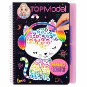TOPModel Magic-Scratch Boek
