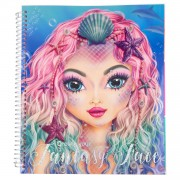 TOPModel Create your Fantasy Face Kleurboek
