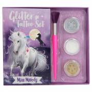 Miss Melody Tattoo Set Glitter
