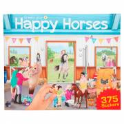 Create your Happy Horses Stickerboek