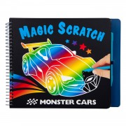 Monster Cars Magic Scratch Boek