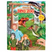 Dino World Create your Dino Zoo Stickerboek