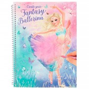 TOPModel Create your Fantasy Model Kleurboek Ballet