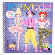 TOPModel Dress Me Up Stickerboek Dance