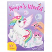 Ylvi & the Minimoomis Create your Naya's World Stickerboek