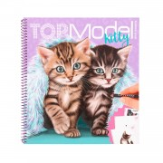 TOPModel Create Your Kitty Kleurboek
