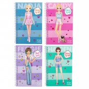TOPModel Dress Me Up Pocket Stickerboek