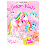 Ylvi Create your Unicorn World Stickerboek