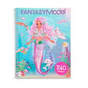 TOPModel Fantasy Model Dress me Up Stickerboek