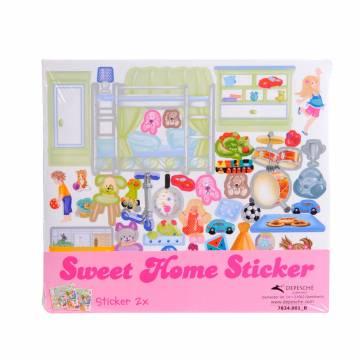 Sweet Home Sticker Small - Kinderkamer online kopen  Lobbes.nl