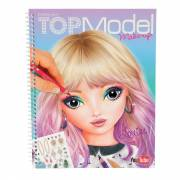 Create your TOPModel Make-up Tekenboek