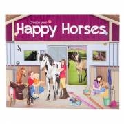 Horses Dreams Stickerboek - Create Your Happy Horses