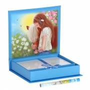 Miss Melody Notitiebox - Blauw