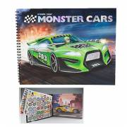 Create Your Monster Cars Kleurboek