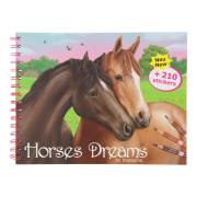 Horses Dreams Tekenboek