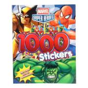 Marvel Superhelden Stickerboek, 1000 stickers