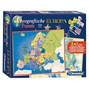 Lobbes-Clementoni Puzzel Europa. 104st.-aanbieding