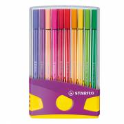 STABILO Pen 68 Colorparade Paars, 20st.